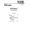 Sony EV-S550E (serv.man3) Service Manual