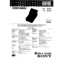 Sony GV-9E Service Manual