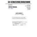 Sony GV-D200 (serv.man2) Service Manual