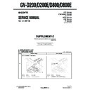 Sony GV-D200 (serv.man3) Service Manual